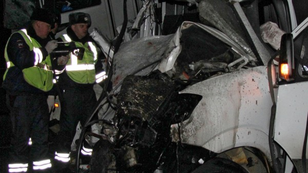 Автобус с марий эл попал в аварию