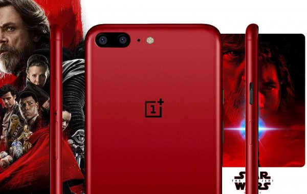 Смартфон OnePlus 5T появится в версии Star Wars Limited Edition