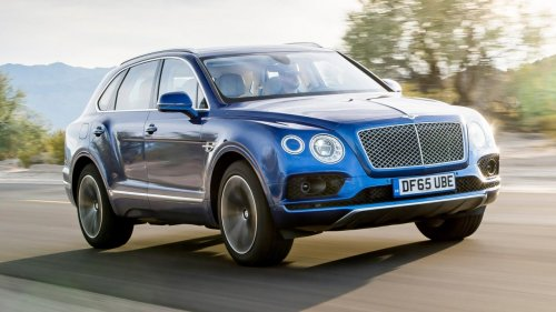 Плагин-гибридный Bentley Bentayga дебютирует на мотор-шоу в Женеве