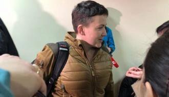 МОЛНИЯ: Надежда Савченко насвободе