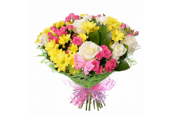 Слова когда дарят цветы