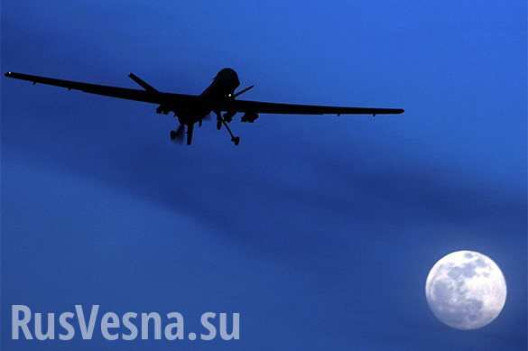 The militants are preparing another provocation with the use of drones