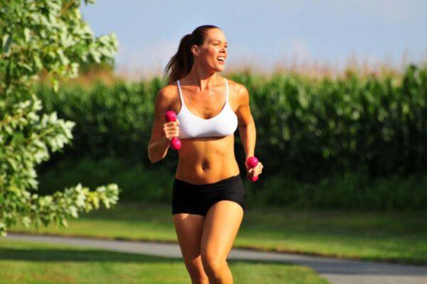 Девушке бег для похудения